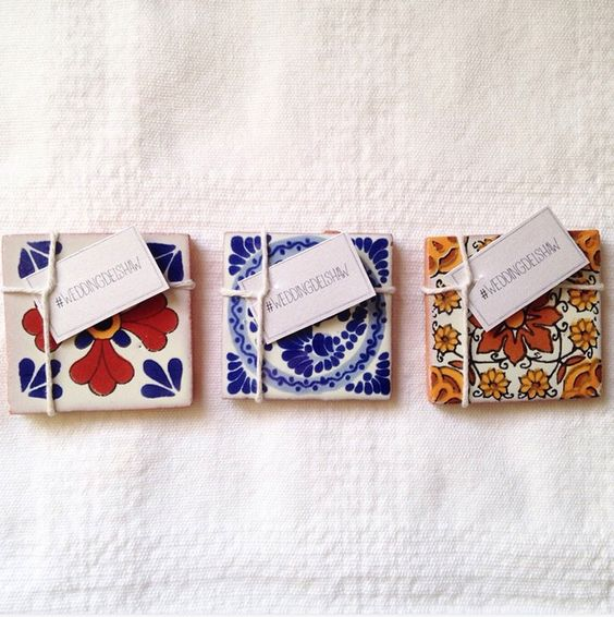 mexican-spanish-tile-wedding-favors